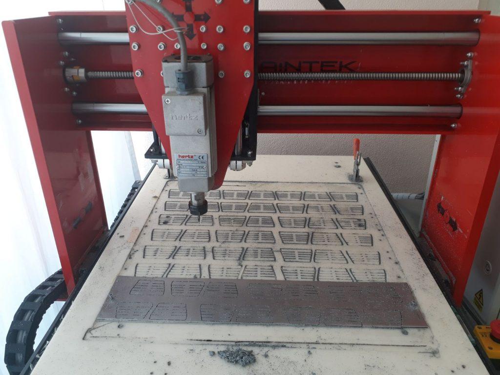 Maintek CNC Çinko İşleme Masaüstü Cnc